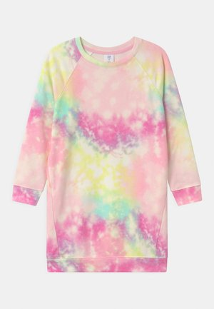 GIRL TIE DYE  - Day dress - rainbow