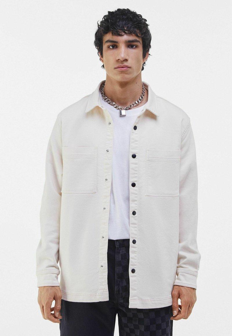 Bershka - Summer jacket - beige
