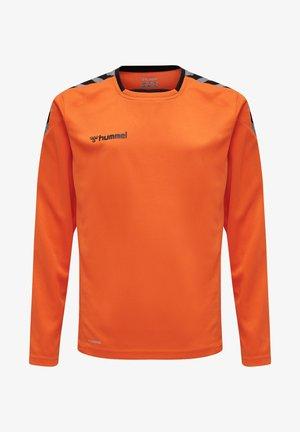 HMLAUTHENTIC - Sports shirt - tangerine