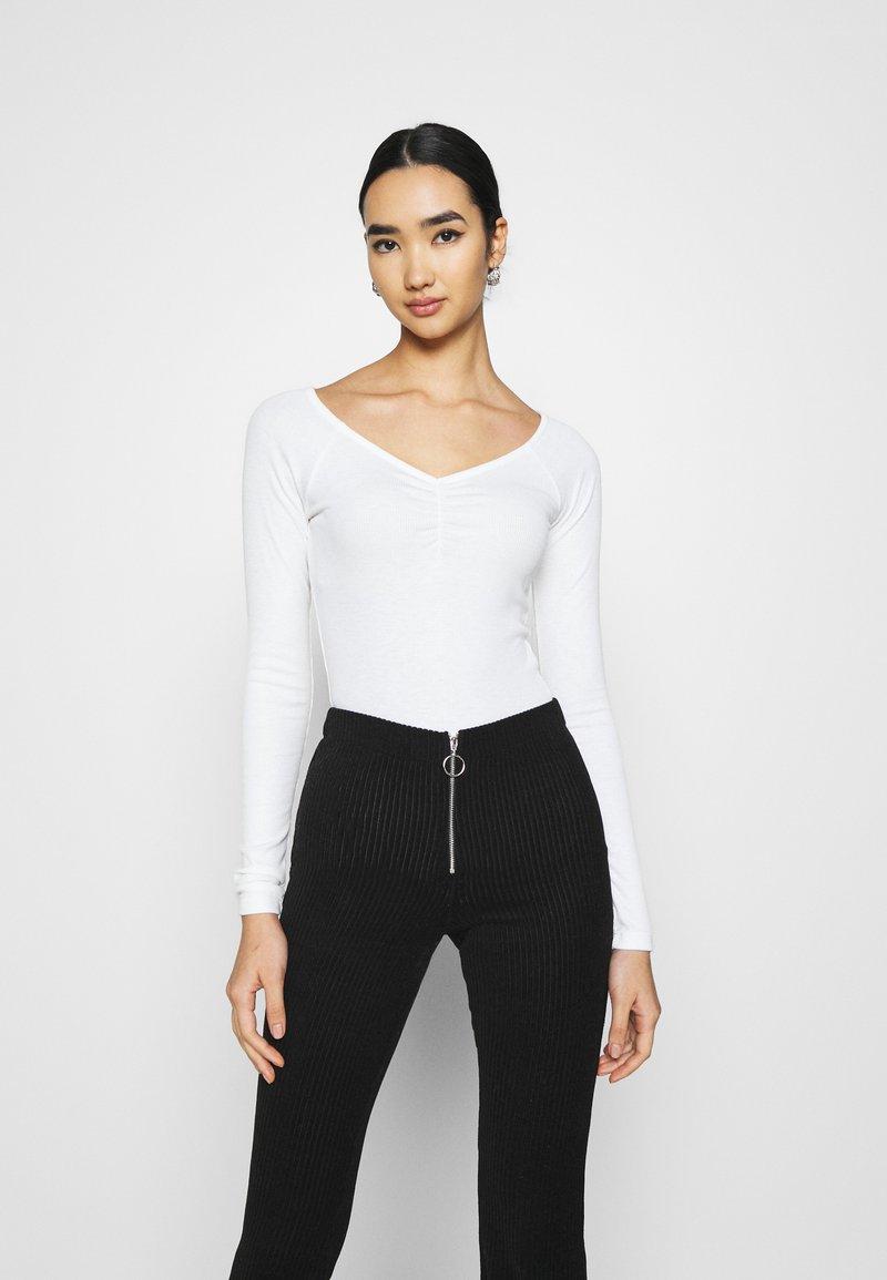 Even&Odd - Long sleeved top - white