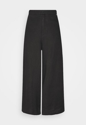 CYDER PANTS WOMAN - Trousers - caviar
