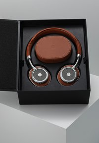 Master & Dynamic - MW50 WIRELESS ON-EAR - Koptelefoon - brown/silver - 3