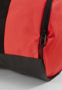 Nike Performance - TEAM DUFFLE - Sports bag - laser crimson/black/white - 5