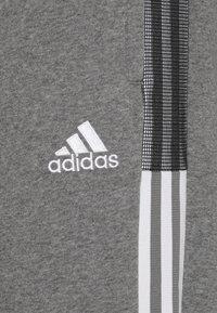 adidas Performance - TIRO - Tracksuit bottoms - grey - 5