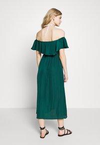 Women Secret - SHORT SLEEVES MEDIUM DRESS - Complementos de playa - pine green - 2
