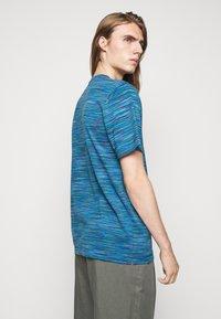 Missoni - SHORT SLEEVE - T-shirt con stampa - blue - 2