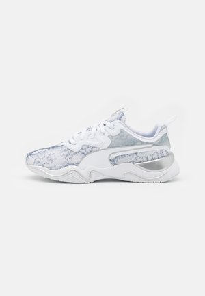 ZONE XT UNTAMED - Trainings-/Fitnessschuh - white/metallic silver