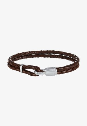 SINGLE TRICE BRACELET - Náramek - brown