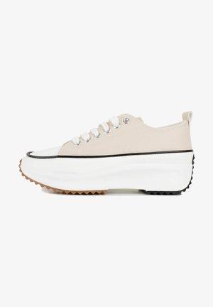 PLATEFORME  - Sneakers laag - beige