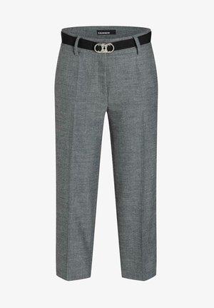 BERMUDA - Trousers - salt pepper dark