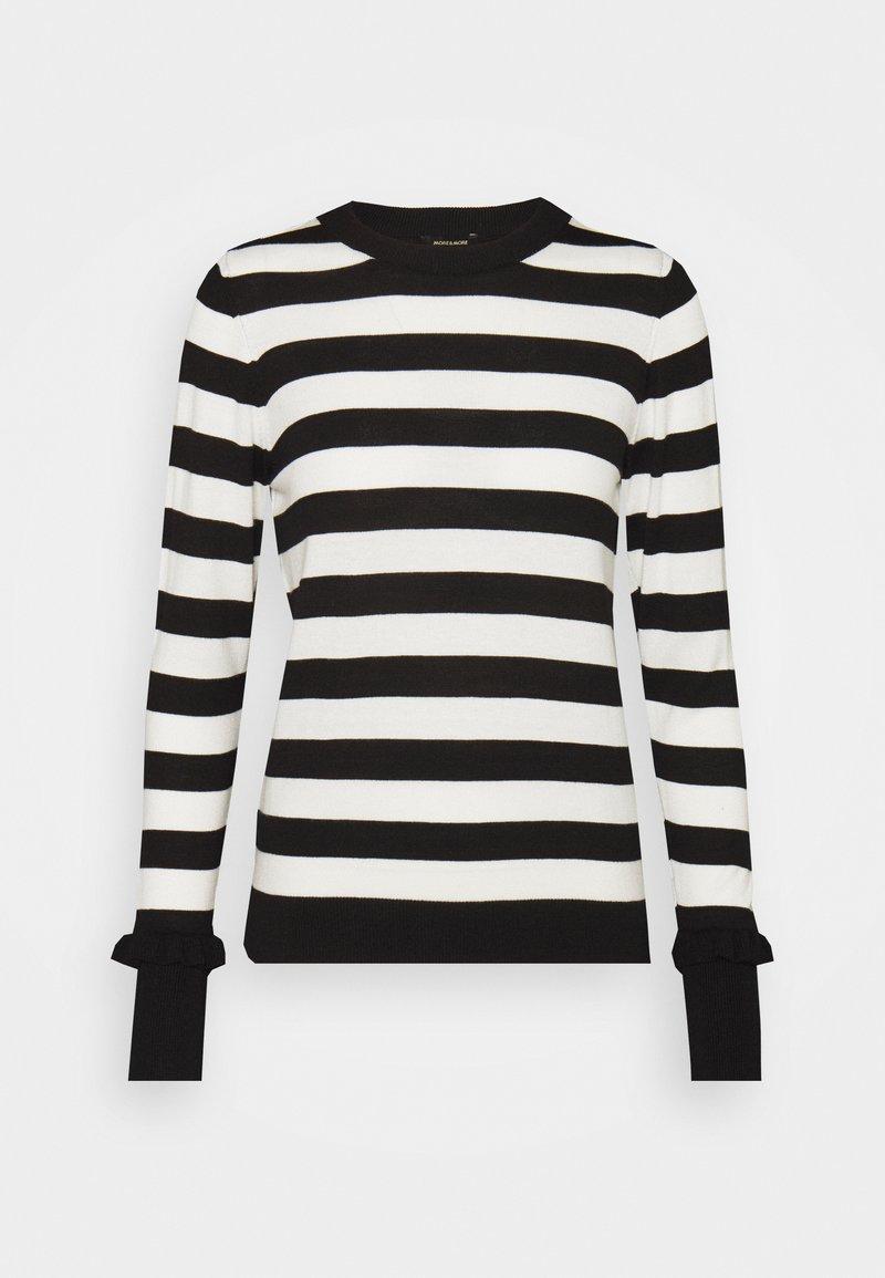 More & More - Sweter - black
