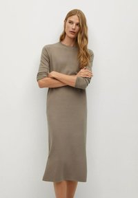 Mango - SOFA-A - Jumper dress - beige - 0