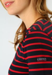 Armor lux - CANCALE MARINIÈRE - Long sleeved top - rich navy braise - 2