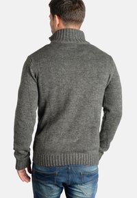 Solid - PHILOSTRATE - Jumper - dark grey - 1