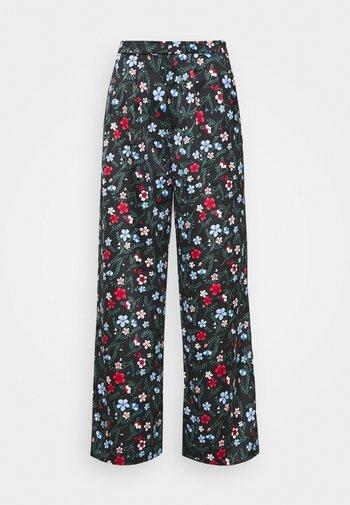 MINA TROUSERS - Trousers - black