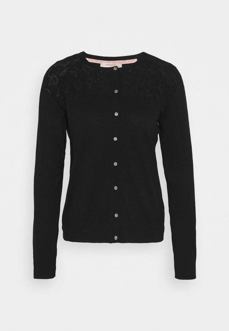 Noa Noa - BASIC - Cardigan - black