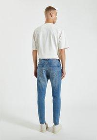 PULL&BEAR - Skinny džíny - light blue denim - 2