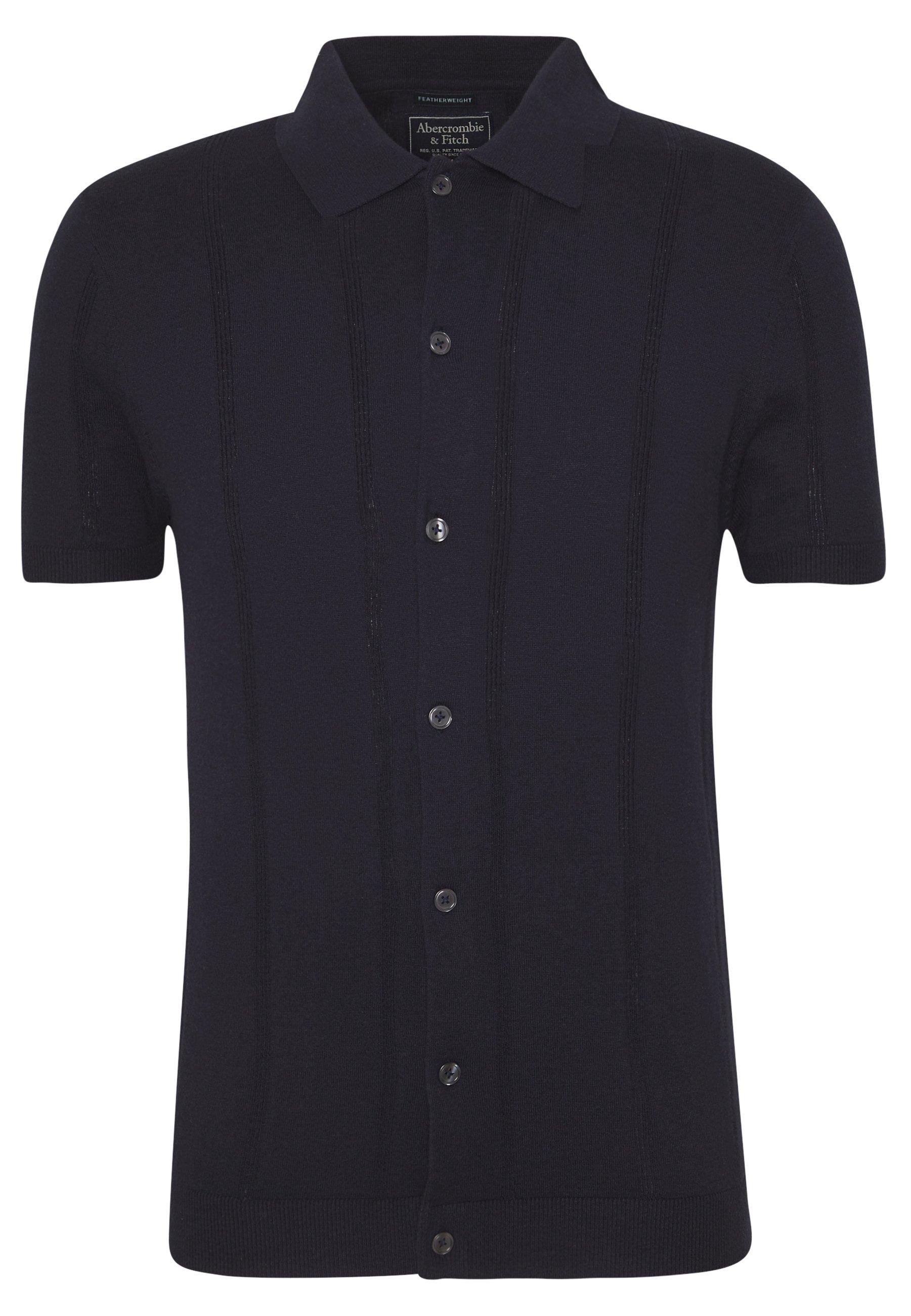 Abercrombie & Fitch Poloskjorter - Navy/mørkeblå