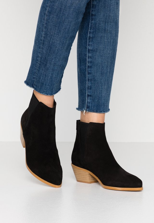 NIKI - Ankle boot - milda black/rabat black