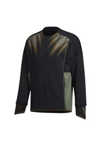 adidas Performance - DESIGNED4TRAINING COLD.RDY SPORTS PULLOVER - Sweatshirt - black - 3