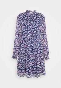 VIPOGOLICO SHORT DRESS - Day dress - dark blue/pink