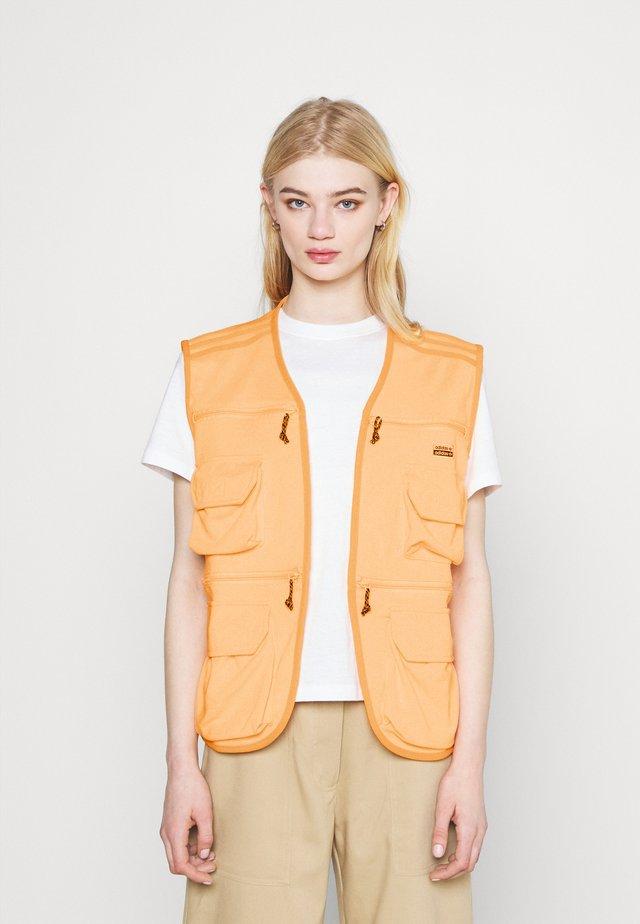 Waistcoat - acid orange