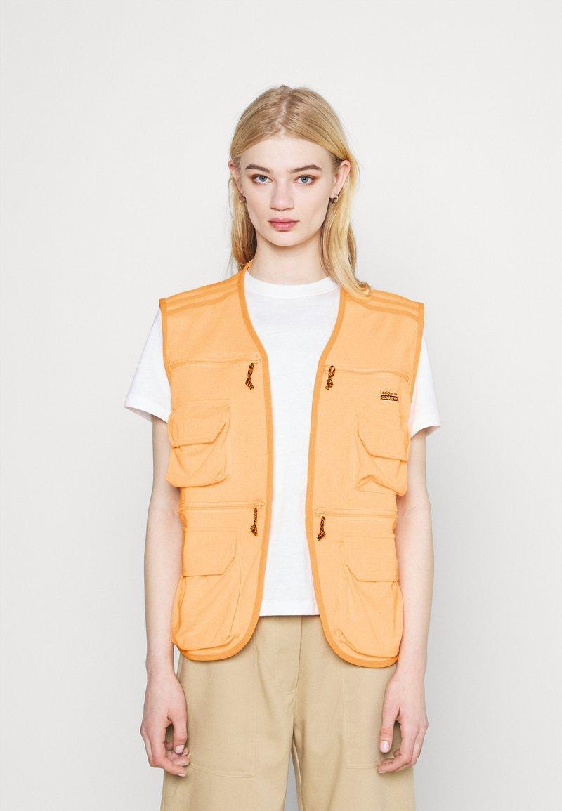adidas Originals - Waistcoat - acid orange