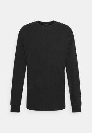 RELAXED LONGSLEEVE ARTWORK - Long sleeved top - black
