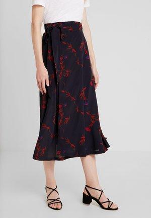 JASMIN SKIRT - Zavinovací sukně - black picabella