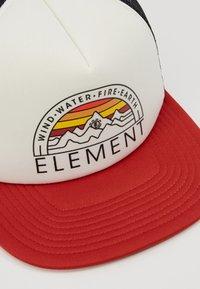 Element - ODYSSEY TRUCKER - Cap - pompeian red - 6