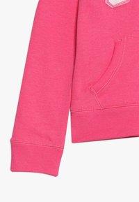 GAP - GIRLS ACTIVE LOGO - Hoodie met rits - pink jubilee - 2