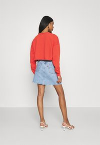 Abrand Jeans - OVERSIZED CROP - Sweatshirt - rust red - 2