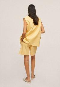 Mango - Shorts - pastel yellow - 2