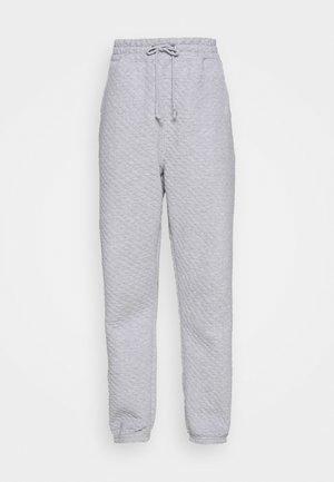 QUILTED - Teplákové kalhoty - grey