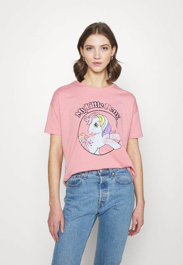 ONLMY LITTLE PONY LIFE - T-shirts med print - blush