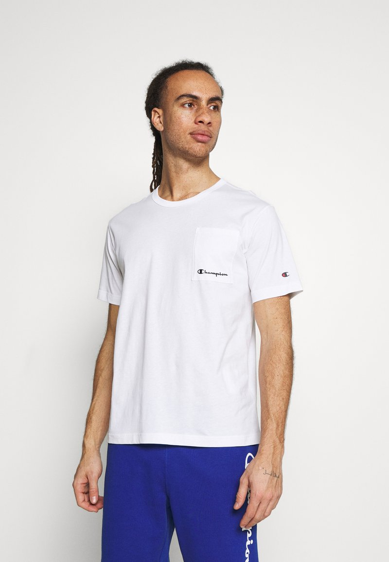 Champion - CREWNECK - Basic T-shirt - white