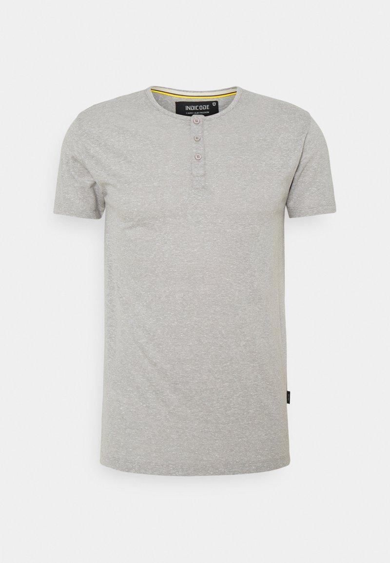 INDICODE JEANS - ESTEPONA - T-shirt - bas - grey mix