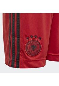 adidas Performance - DEUTSCHLAND DFB TORWART HEIMSHORTS - Sports shorts - glory red - 3