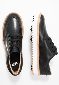 Nike Golf - JANOSKI G TOUR - Golfskor - black/metallic white/vachetta tan/medium brown/white - 1