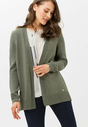 ANIQUE - Strickjacke - khaki