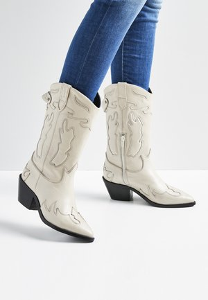 Classic ankle boots - blanco off
