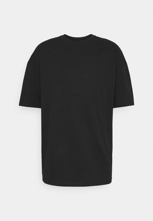 SILENCE WAVES UNISEX - Print T-shirt - black