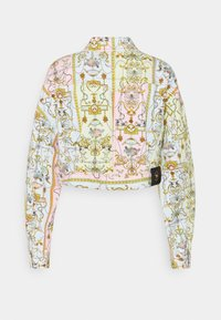 Versace Jeans Couture - LADY JACKET - Denim jacket - blue bell/pink confetti/light green - 1