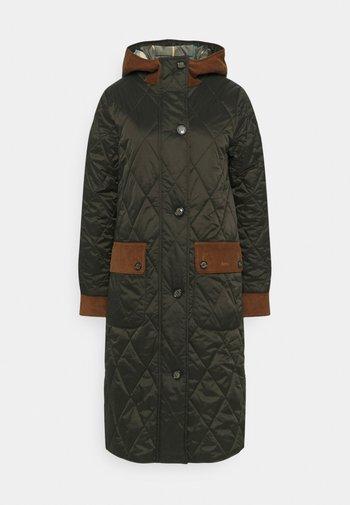 MICKLEY QUILT - Classic coat - sage/ancient