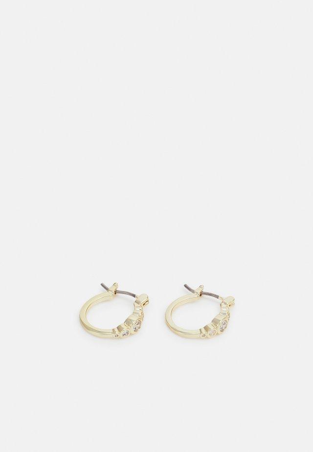 TWENTY SMALL OVAL EAR - Örhänge - gold-coloured