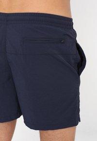Urban Classics - BLOCK - Swimming shorts - navy - 1