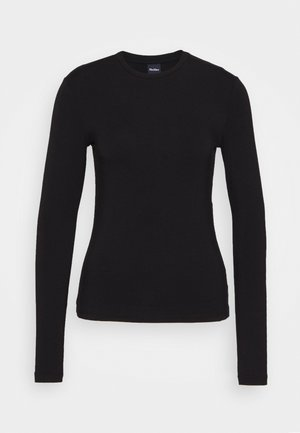 ASIAGO - Long sleeved top - schwarz