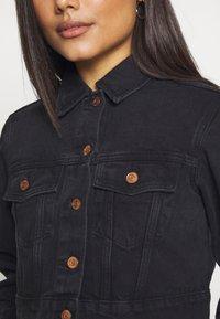 New Look Petite - MISSY CROP JACKET - Denim jacket - black - 5