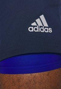 adidas Performance - OWN THE RUN RESPONSE RUNNING - Korte broeken - collegiate navy/royal blue - 4