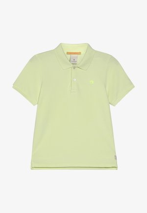 GARMENT DYED - Poloshirt - lemonade